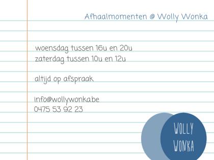 Vaste afhaalmomenten en wolbezoeken @ Wolly Wonka