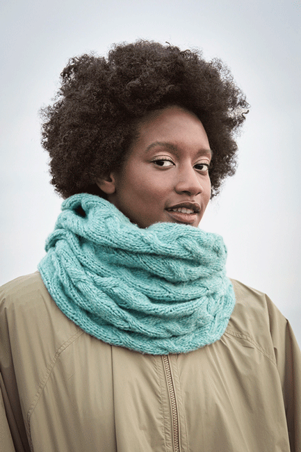 Wooladdicts - Scarf - Air