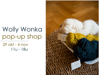 Pop-upshop Wolly Wonka – winter 2018