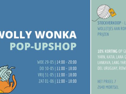 Wop wop, kom naar onze pop-up shop!
